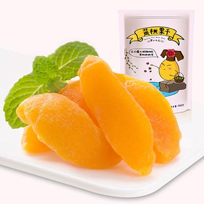 黄桃果零食小吃独